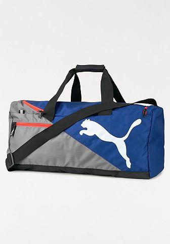PUMA Puma FUNDAMENTALS SPORTS BAG Sportovní taška modrá-šedá - standardní velikost M