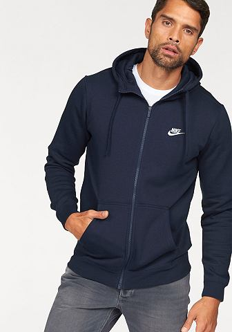 Nike Sportswear Mikina s kapucí »NSW HOODIE FULLZIP FLEECE CLUB«
