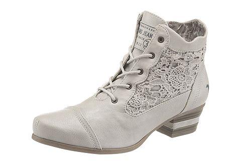 Mustang Shoes Kotníčková obuv modrá - EURO velikost 39 (5,5/6)