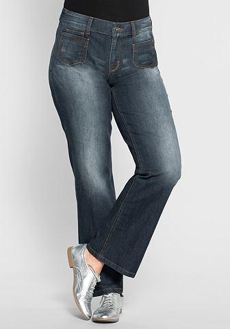 джинсы широкие женские