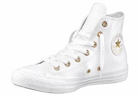 Converse Converse Botasky »Chuck Taylor All Star Craft SL-Hi« bílá/zlatá barva - EURO velikosti 42