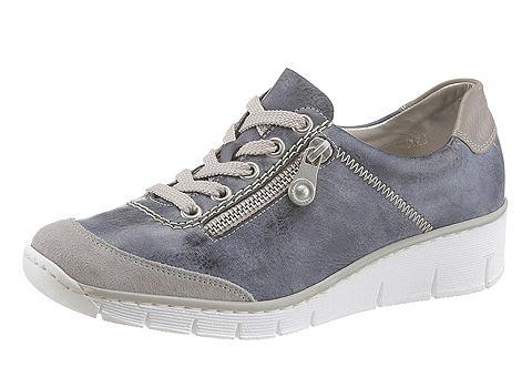 Rieker Rieker Šněrovací obuv modrá-šedá - EURO velikost 40
