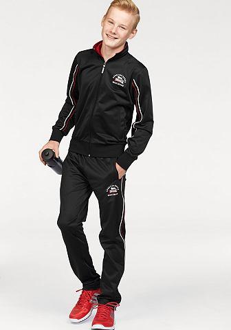 Lonsdale Lonsdale sportovní souprava »Tricot Fleece« černá - standardní velikost 176