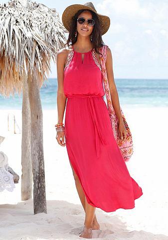 s.Oliver RED LABEL s.Oliver RED LABEL Plážové dlouhé šaty černá 44