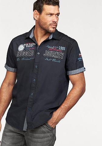 Man's World Man's World Košile s krátkými rukávy indigová modrá - standardní velikost XL (43/44)