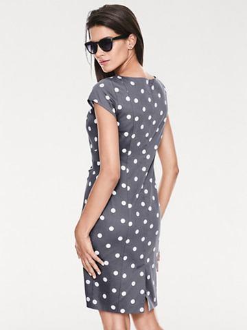 ASHLEY BROOKE by heine Pouzdrové puntíkované šaty