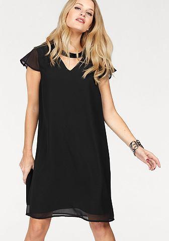 Vero moda® Vero Moda Šaty »LITA« černá - standardní velikost L (40)