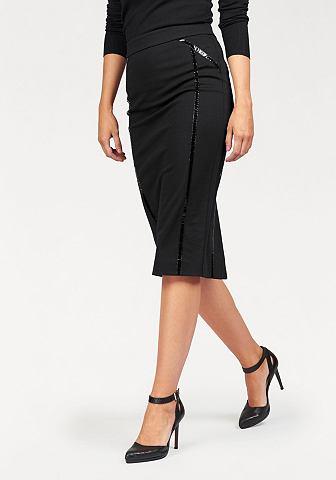 Bruno Banani Bruno Banani Úzká sukně černá - standardní velikost 32