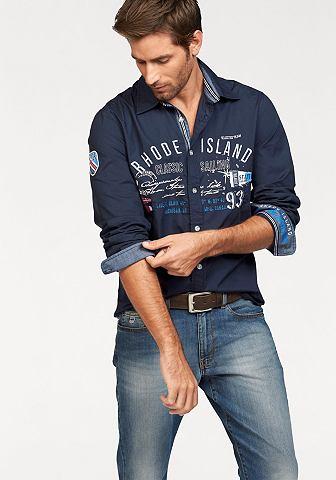 Rhode Island Košile námořní modř - standardní velikost XL (43/44)