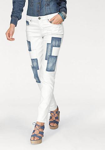 Arizona Arizona 7/8 džíny bílá - standardní velikost 34