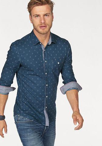 Tom Tailor Denim Tom Tailor Denim Košile s dlouhými rukávy tmavě modrá - standardní velikost XL (42-43)