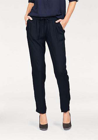 Tom Tailor Tom Tailor Turecké kalhoty námořní modř - standardní velikost 34