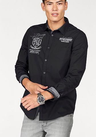 Bruno Banani Bruno Banani Košile černá - standardní velikost XL (43/44)