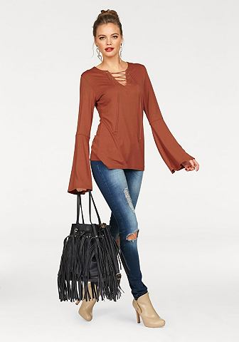 Melrose triko s dlouhým rukávem
