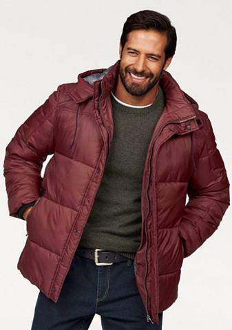 Man's World Man's World Zimní bunda červená - standardní velikost XXXL (64/66)