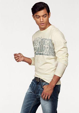 Tom tailor Tom Tailor Tričko s dlouhým rukávem antracitová - standardní velikost XXXL(60/62)