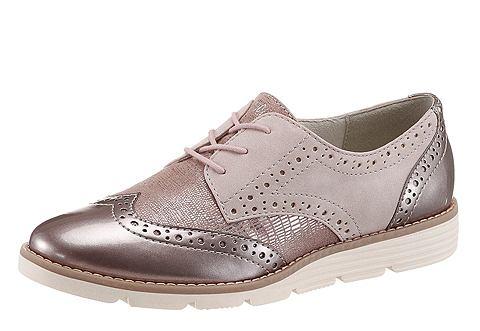 s.Oliver RED LABEL s.Oliver RED LABEL Šněrovací obuv růžová - EURO velikosti 41 (7/7,5)