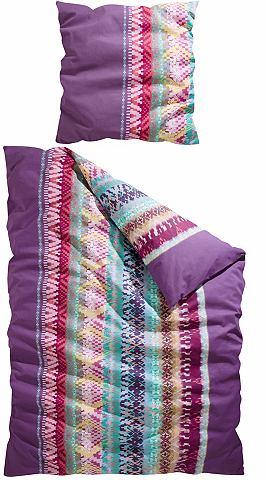 Ložní prádlo, CASATEX »Indio« s barevným vzorem cik-cak