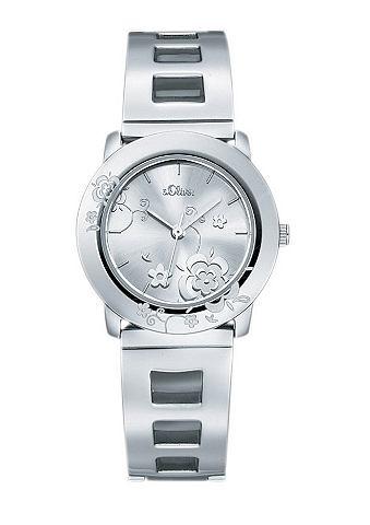 s.Oliver RED LABEL Náramkové hodinky, s.Oliver stříbrná barva