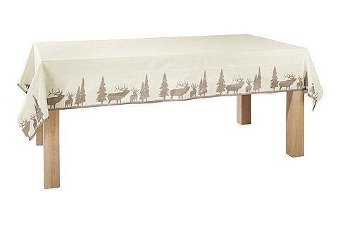 heine home Ubrus přírodní/bílá cca 150x320 cm