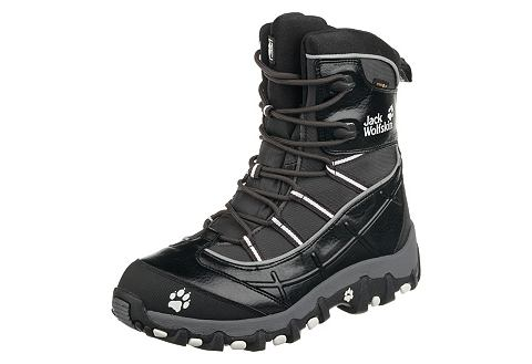 Jack Wolfskin Jack Wolfskin Snowscape Zimní obuv vysoká hnědá - standardní velikost 39