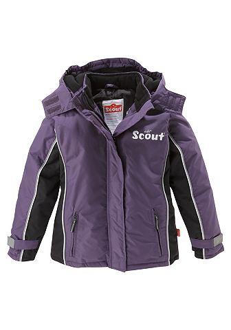Scout Scout Lyžařská bunda, fialová fialová - 92-122 122