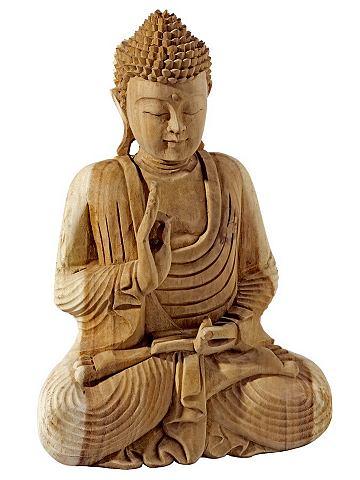 heine home Buddha přírodní - ca. 41x31x17 cm