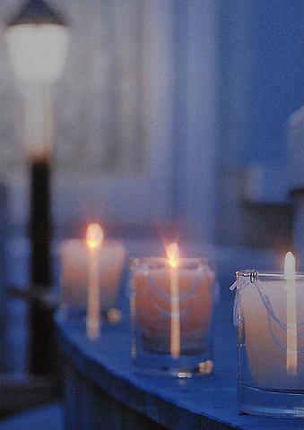 LED obrázek svíčky
