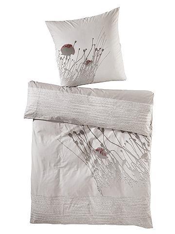 heine home Ložní prádlo našedlá - ložní prádlo - renforcé cca 135x200 cm a cca 80x80 cm