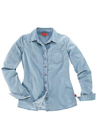 CFL CFL Džínová košile pro dívky modrá obnošená - standardní velikost 152