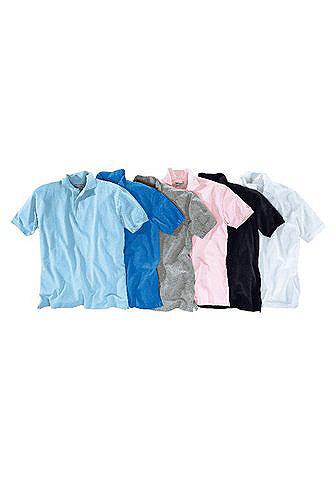 Кофта-поло, Grey Connection OttoУличная одежда<br>Короткий рукав. Классический покрой. Материал пике. 60 % хлопка, 40 % полиэстера.<br><br>Size DE: 44<br>Colour: синий<br>Gender: Мужской<br>Age: Взрослый<br>Material: Верх: 100% хлопок