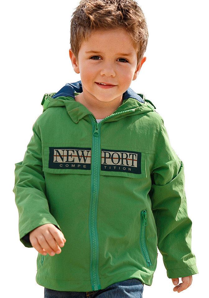 Куртка для мальчиков OttoКуртки<br>Ширина капюшона регулируется; застёжка-молния с защитой подбородка. Ширина нижнего края варьируется. Верхний материал из 100 % полиамида. Подкладка: 100 % полиэстера.<br><br>Size DE: 128<br>Colour: зеленый<br>Gender: Мужской<br>Age: Детский<br>Material: Подкладка: 100% полиэстер;Верх: 100% полиамид