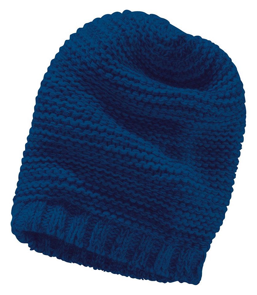 Вязаная шапка в стиле «Beenie» для детей OttoЗимняя одежда<br>В стиле «Beenie». Роскошная вязка! 100 % полиакрила.<br><br>Size DE: 4<br>Colour: синий<br>Gender: Мужской<br>Age: Детский<br>Material: Верх: 100% полиакрил