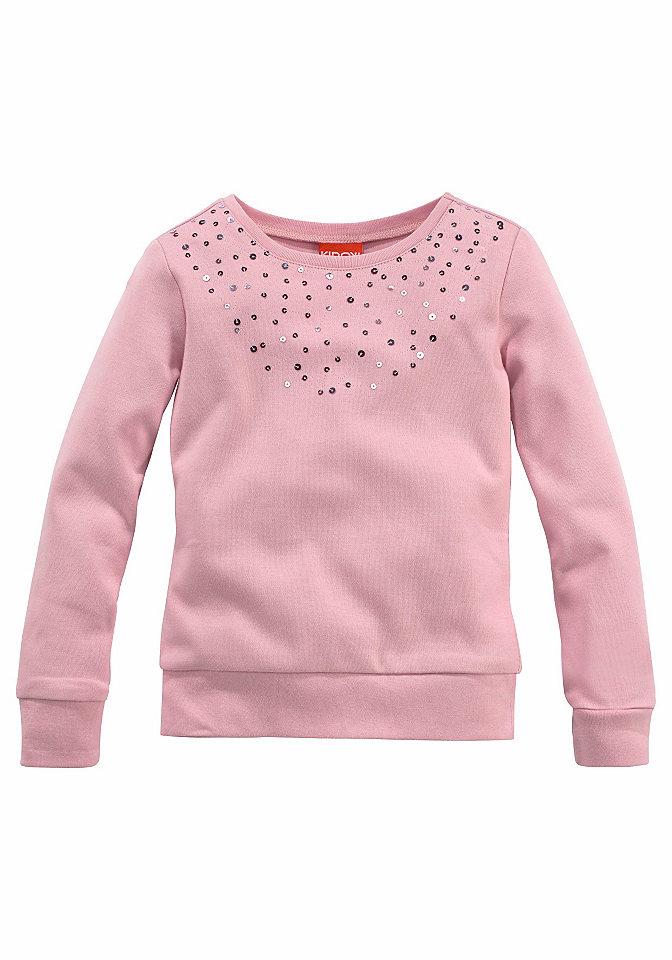 Кофточка с пайетками для девочек, CFL OttoПуловеры<br>Длинный покрой. Либо полностью с рисунком, либо с аппликацией из пайеток. Мягкий материал из 100 % хлопка. Начёс с изнаночной стороны.<br><br>Size DE: 140<br>Colour: розовый<br>Gender: Женский<br>Age: Детский<br>Material: Верх: 100% хлопок