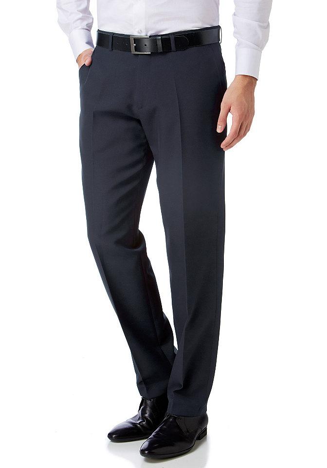 Брюки Chicago OttoБрюки<br>Классические мужские брюки узкого прямого покроя - идеальный вариант для вашего гардероба от марки Bruno Banani, не упустите возможность купить прямо сейчас! Боковые карманы, окантованные карманы сзади, складки-стрелки, петли для ремня - сдержанная элегантность дизайна очевидна. Линия пояса немного занижена. Для офиса и торжественных мероприятий эти брюки в комплекте с рубашкой и пиджаком подойдут идеально! Длина по внутреннему шву ок. 87 см (размер 98), ширины низа брючин ок. 43 см.<br><br>Size DE: 94<br>Colour: синий<br>Gender: Мужской<br>Age: Взрослый<br>Material: Подкладка: 100% полиэстер;Верх: 100% полиэстер