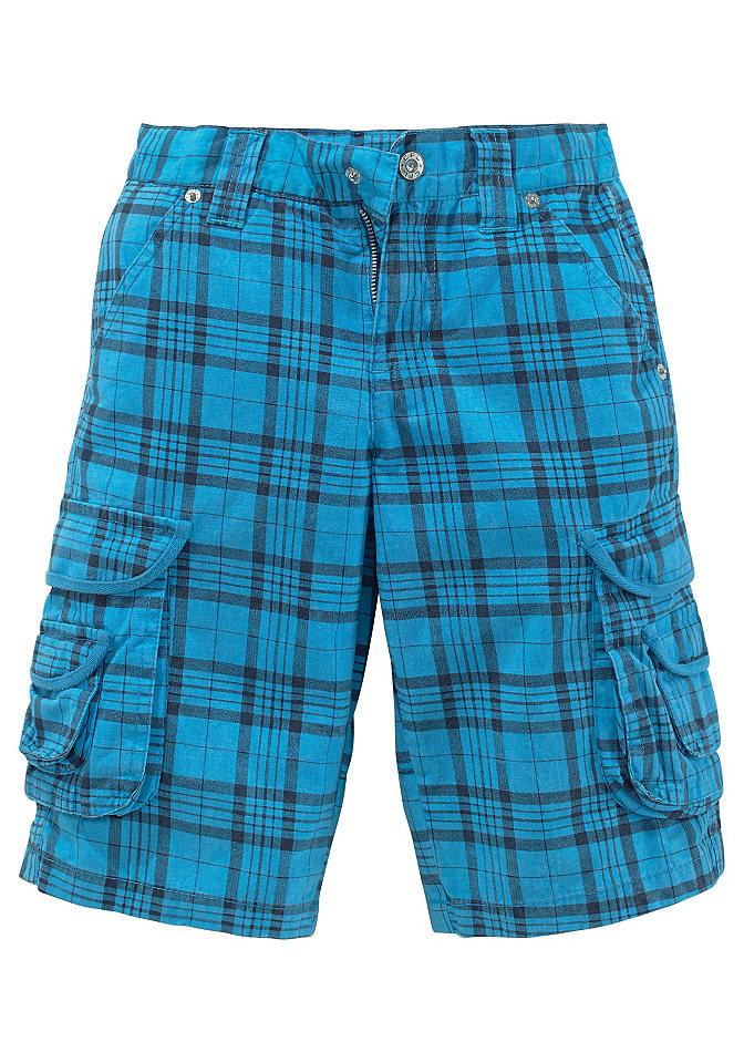 Бермуды, CFL OttoСпортивная одежда<br>Покрой бэгги с двойными карманами карго. Регулируемый изнутри пояс до разм. 146, кнопка до разм. 134. Прочная канва высокого качества из 100 % хлопка.<br><br>Size DE: 182<br>Colour: синий<br>Gender: Мужской<br>Age: Детский<br>Material: Верх: 100% хлопок