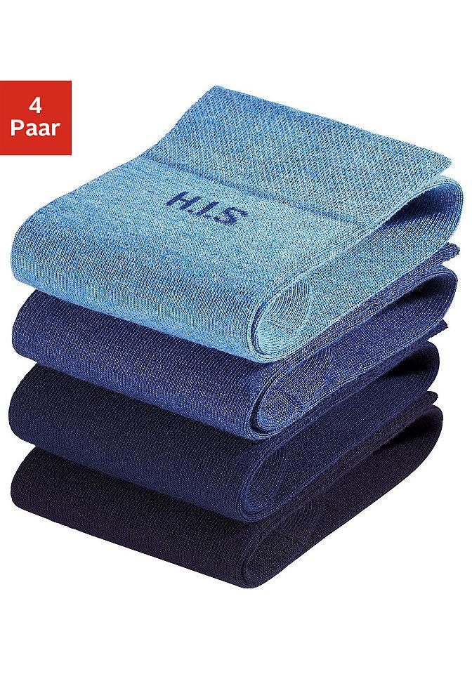 Носки, H.I.S (4 пары) OttoЧулки и носки<br>Без сдавливающей окантовки. Цветовой набор 1: светло-серый мел.+тёмно-серый мел.+синий морской+чёрный Цветовой набор 2: чёрный+тёмно-коричневый+цвет вербл. шерсти+бежевый Цветовой набор 3: 2x серый мел.+2x антрацит мел. Цветовой набор 4: коричневый+тёмно-коричневый+оливковый+бежевый. Из 78 % хлопка, 20 % полиамида, 2 % эластана (LYCRA®).<br><br>Size DE: 43<br>Colour: разноцветный<br>Gender: Мужской<br>Age: Взрослый<br>Material: Верх: 78% хлопок / 20% полиамид / 2% эластан