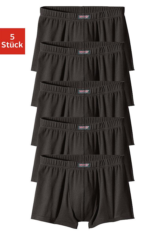 Упаковка: шорты на бёдрах, H.I.S. Underwear (5 шт.) OttoШорты на бедрах<br>Низкая посадка на бёдрах. Спортивные стили с высококачественным логотипом H.I.S. спереди. В выгодном комплекте из 5 шт. Приятный, мягкий и эластичный материал. Хлопок стретч: 95 % хлопка, 5 % эластана.<br><br>Size DE: 3<br>Colour: черный<br>Gender: Мужской<br>Age: Взрослый<br>Material: Верх: 95% Baumwolle_(unterst?tzt_Cotton_made_in_Africa) / 5% эластан