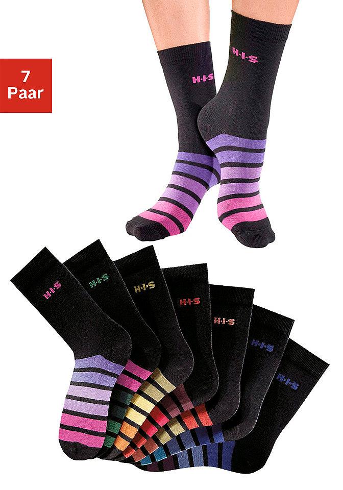 Носки, H.I.S. Socks (7 пар) Otto