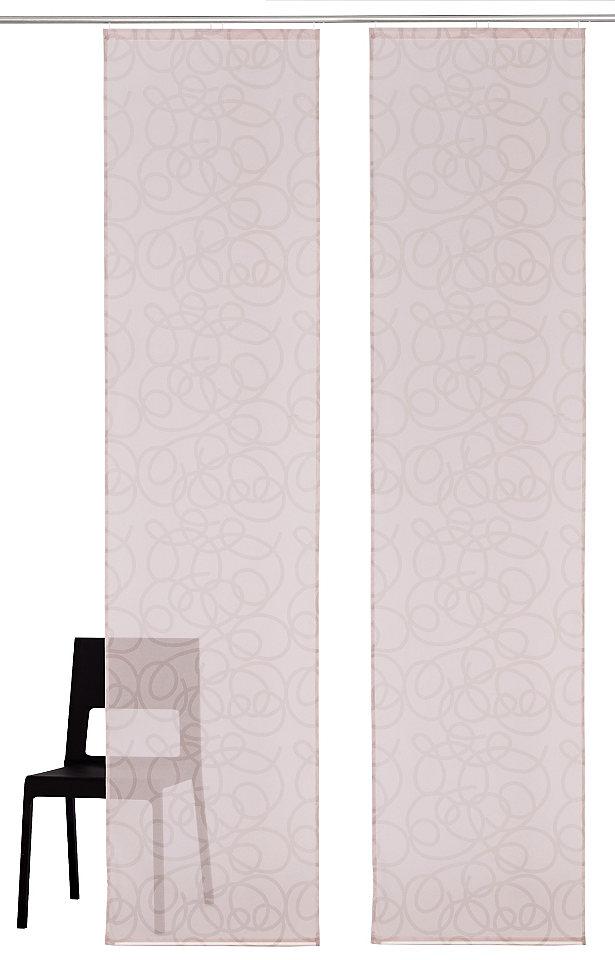 Японская штора, My Home, »Tanaro« (2 шт. ) Otto