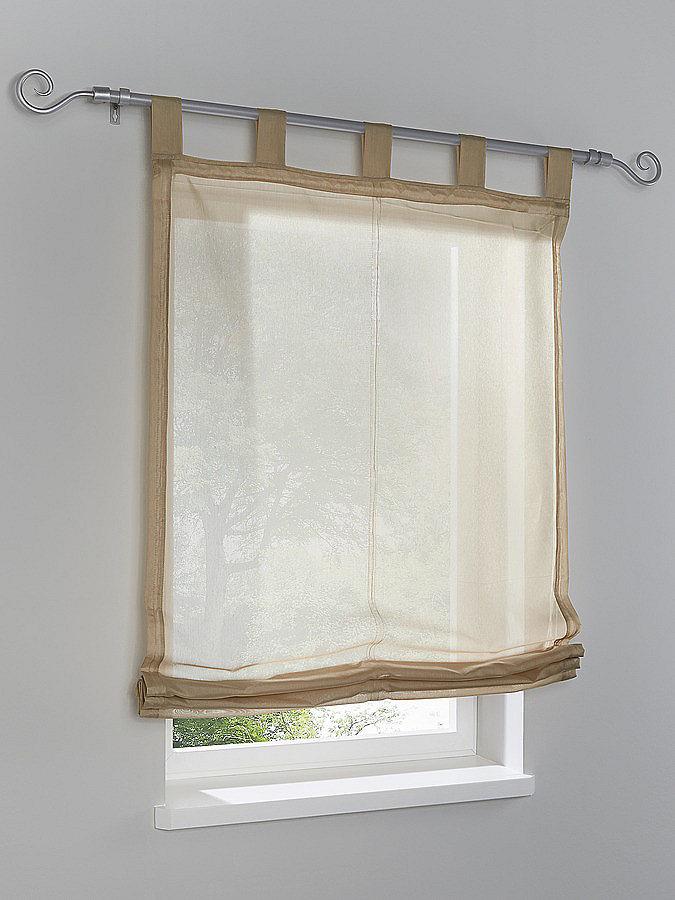 Римская штора OttoРимские шторы и жалюзи<br>Римская штора. На петлях. Высота ок. 140 см.<br><br>Size DE: 3<br>Colour: коричневый<br>Age: Взрослый<br>Material: Верх: 100% полиэстер
