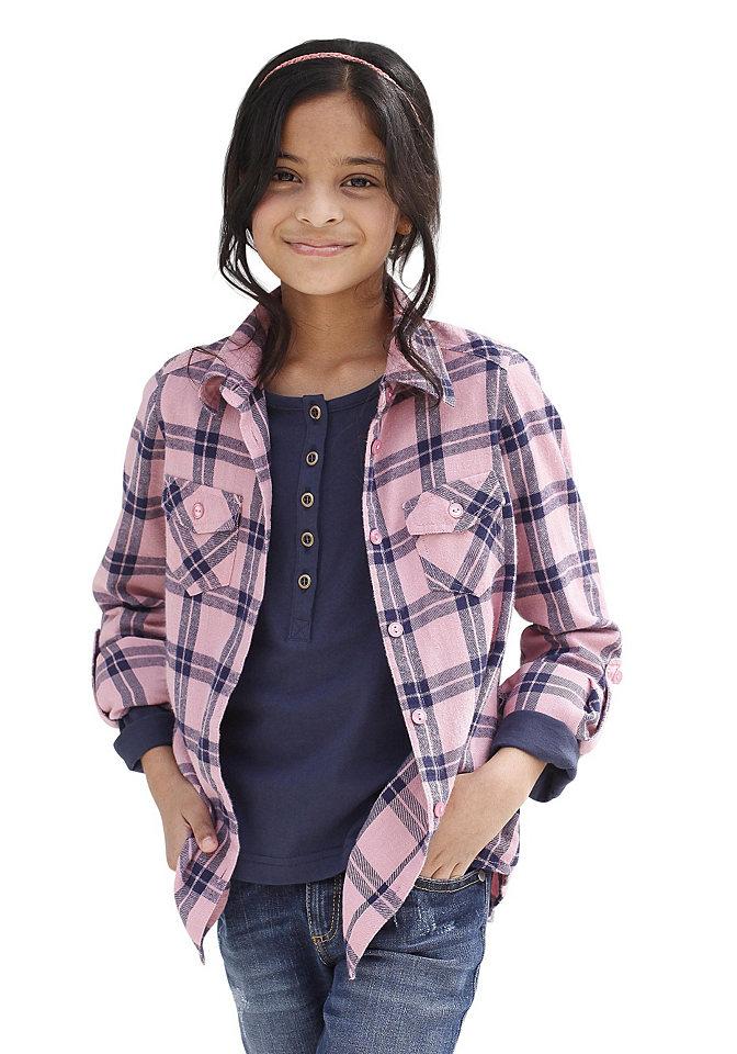 Рубашка CFL OttoБлузки и туники<br>100% хлопок.<br><br>Size DE: 182<br>Colour: розовый<br>Gender: Женский<br>Age: Детский<br>Material: Верх: 100% хлопок