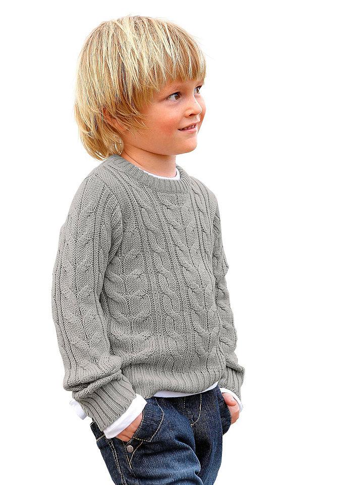 Пулове OttoПуловеры и вязаные вещи<br>Материал верха: 50% хлопок, 50% полиакрил.<br><br>Size DE: 128<br>Colour: серый<br>Gender: Мужской<br>Age: Детский<br>Material: Верх: 50% хлопок / 50% полиакрил