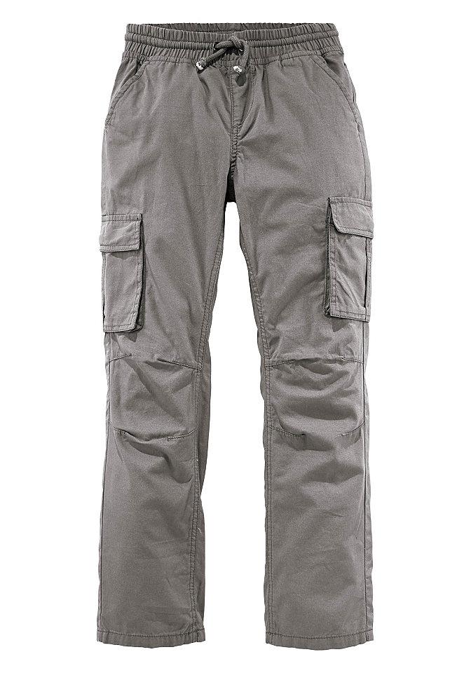 Брюк OttoБрюки и джинсы<br>Удобные брюки с поясом на резинке, карманами-карго по бокам, накладными карманами сзади. Выполнены из простого в уходе, комфортного материала. Тип изделия: брюки без застежки. Сведения о качестве: приятный материал, прошедший строгий контроль на содержание вредных веществ. Материал: парусина. Покрой: базовый покрой. Форма брюк: прямая. Длина брюк: длинная модель. Посадка: классическая. Пояс + застежка: пояс на резинке, шнурок. Количество карманов: 6. Передние и боковые карманы: боковые карманы, карманы-карго с клапанами, клапаны на кнопке. Задние карманы: накладные карманы. Края брюк: кант с прострочкой. Отделка: однотонный цвет. Рекомендации по уходу: допускается машинная стирка. Доставка: в горизонтальном положении. Состав материала: 100% хлопок.<br><br>Size DE: 146<br>Colour: серый<br>Gender: Мужской<br>Age: Детский<br>Material: Верх: 100% хлопок