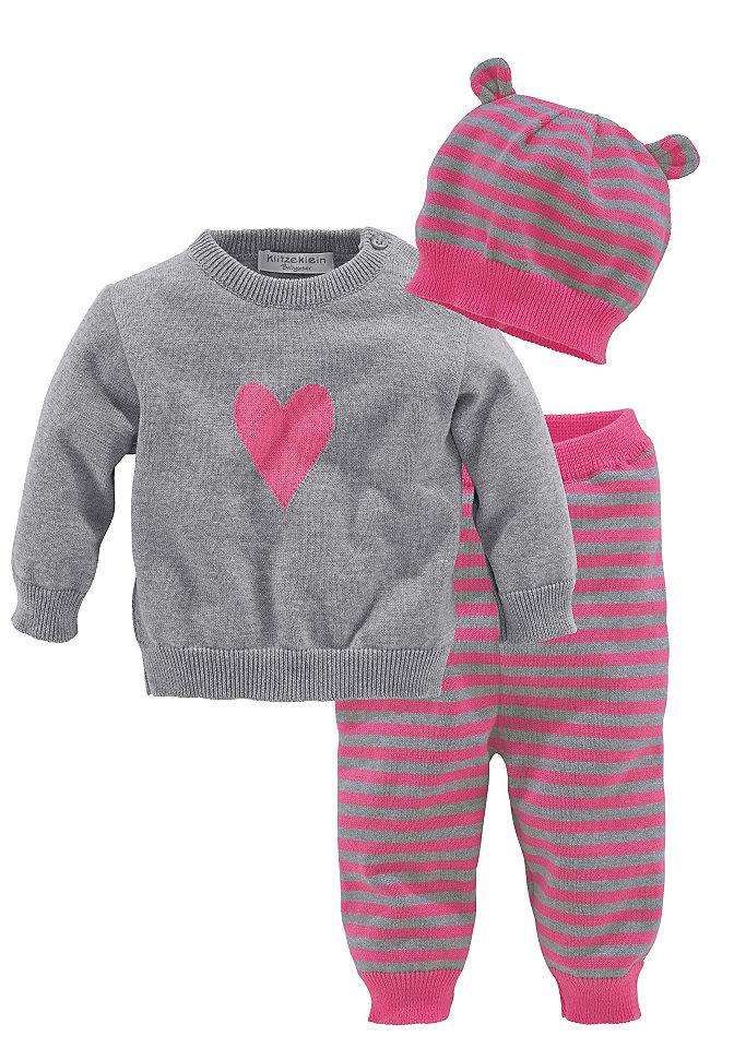 Комплект, 3 части: пуловер + брюки + шапка Otto