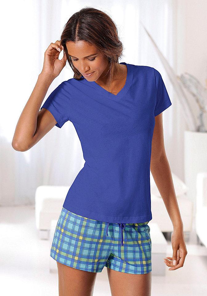 Короткая пижама H.i.s фото WQUE.ru