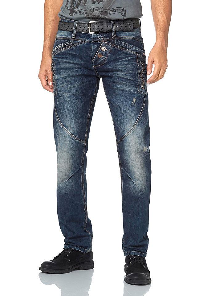 Прямые джинс OttoПрямой покрой штанин<br>Эффект состаренности. Оригинальные швы и карманы. Вышивка на заднем кармане. Комфортный материал. Посадка: заниженная. Края брючин: прямые. Покрой: удобный. Покрой/длина: длинные. Тип застежки: пуговица.<br><br>Size DE: 31<br>Colour: синий<br>Gender: Мужской<br>Age: Взрослый<br>Material: Верх: 100% хлопок