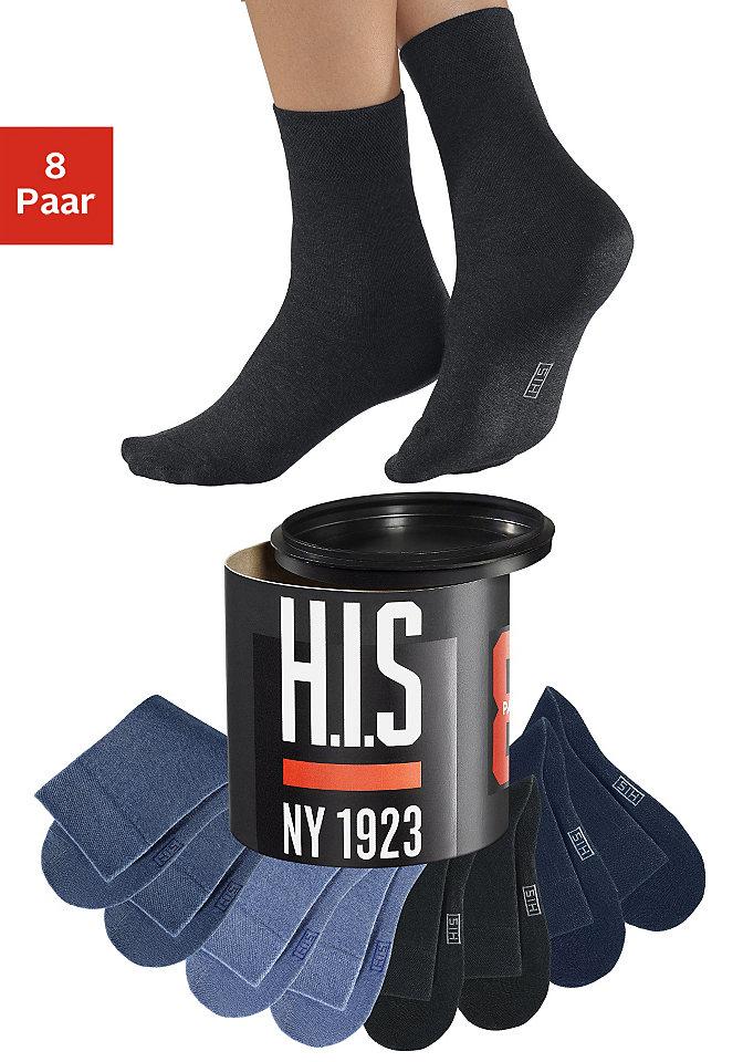 Носки, H.I.S, в стиле «унисекс» (8 пар) Otto