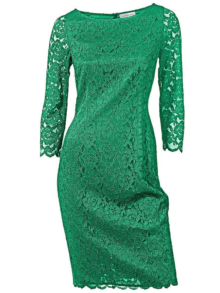 Кружевное платье OttoДля вечеринок<br>Пожалуйста, заказывайте на размер больше, так как платье дает усадку.<br><br>Size DE: 38<br>Colour: зеленый<br>Gender: Женский<br>Age: Взрослый<br>Material: Подкладка: 100% полиэстер;Верх: 90% вискоза / 10% полиамид