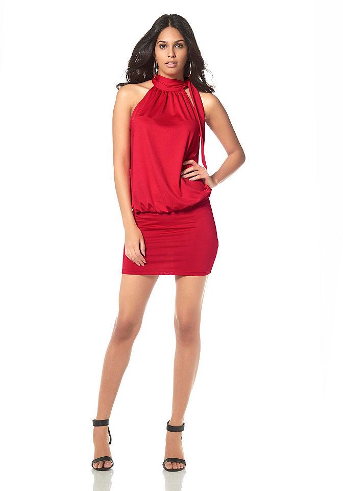 Платье из джерси, Laura Scott Evening OttoВечерние<br>Соблазнительный, молодёжный стиль! Классическое чёрное платье с изысканными деталями. Американский вырез с воротником-стойкой и завязкой сбоку. Вверху свободно ниспадающий покрой, от линии бедра - облегающий покрой. Это вечернее платье привлечёт к Вам всеобщее внимание. Покрой/длина: сильно подчёркивающий фигуру покрой, длина: разм. 32+34 = 92 см. разм. 36+38 = 94 см. разм. 40+42 = 96 см. разм. 44+46 = 98 см. Модная отделка: вечернее платье с американским вырезом. Подробности:  Материал: 95 % полиэстера, 5 % эластана. Машинная стирка. Струящийся материал из джерси. Советы стилиста: Вечернее платье двух стилей: с балетками - молодёжный, с туфлями на высоком каблуке - сексуальный!<br><br>Size DE: 44<br>Colour: красный<br>Gender: Женский<br>Age: Взрослый<br>Material: Верх: 95% полиэстер / 5% эластан